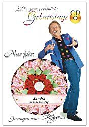 Die persönliche Geburtstags-CD von Frank Zander enthält ein Lied, wobei der eigene Vorname ganze 7 Mal gesungen wird. Nicht nur für Fans von Frank Zander eine tolle Geschenkidee aber vielleicht doc…