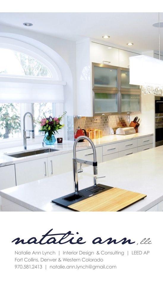 Beautiful Bright Kitchen With Modern Details Design By Natalie