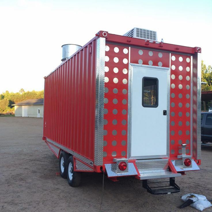 29 best concession trailers caged crow builds images on for Fabricant de stand