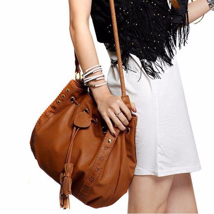 $9.17 (Buy here: https://alitems.com/g/1e8d114494ebda23ff8b16525dc3e8/?i=5&ulp=https%3A%2F%2Fwww.aliexpress.com%2Fitem%2FNew-Hot-Brand-Fashion-Lady-Handbag-Shoulder-Bag-Tote-Purse-PU-Leather-Women-Messenger-Hobo-Bags%2F32733260161.html ) New Hot Brand Fashion Lady Handbag Shoulder Bag Tote Purse PU Leather Women Messenger Hobo Bags Drawstring Tassels Retro Package for just $9.17