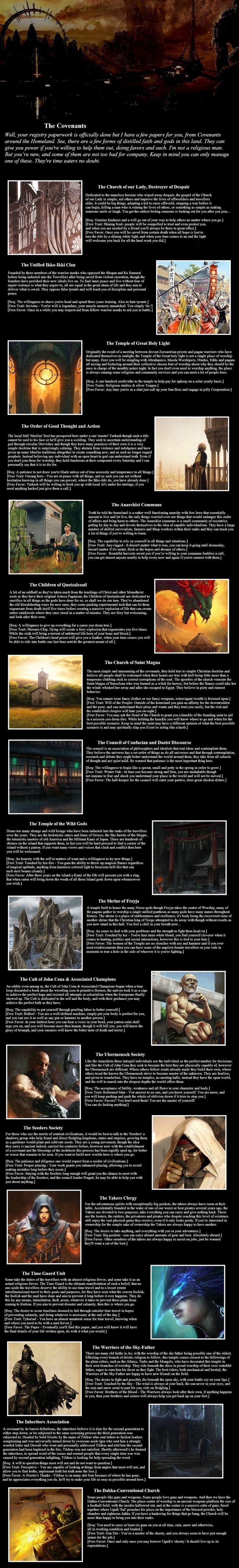CYOA Traveller's Tale