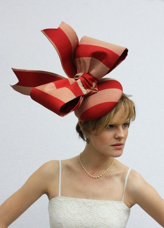Want to wear this!!!!: Parties Hats, Candy Bows, Bows Hats, Fashion Models, Giant Bows, Gorgeous Giant, Derby Hats, Ascot Hats, Big Bows
