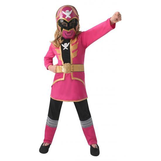 Roze Power Ranger kostuum voor kinderen. Dit roze Power Ranger kostuum voor kinderen bestaat uit een broek, een jurkje en een masker. Carnavalskleding 2015
