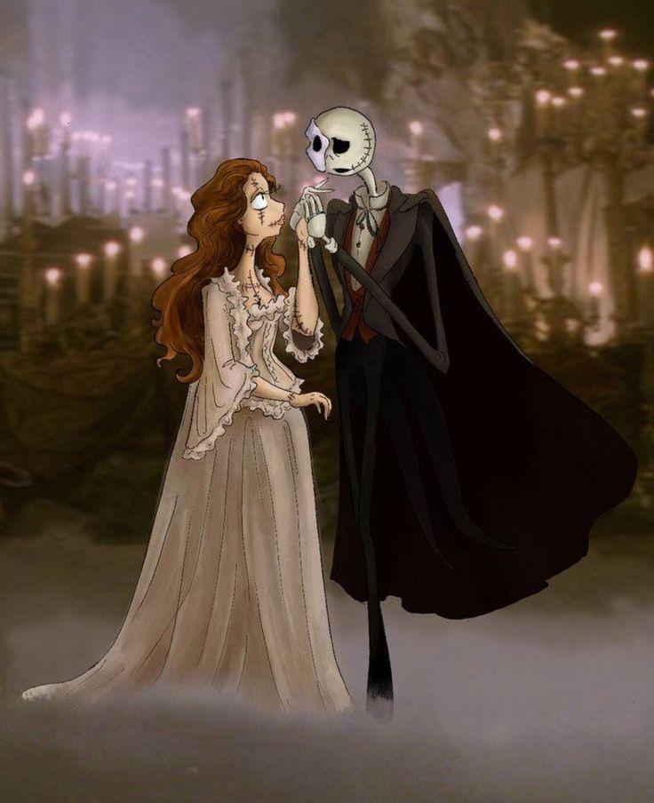 Jack & Sally as Phantom of the Opera