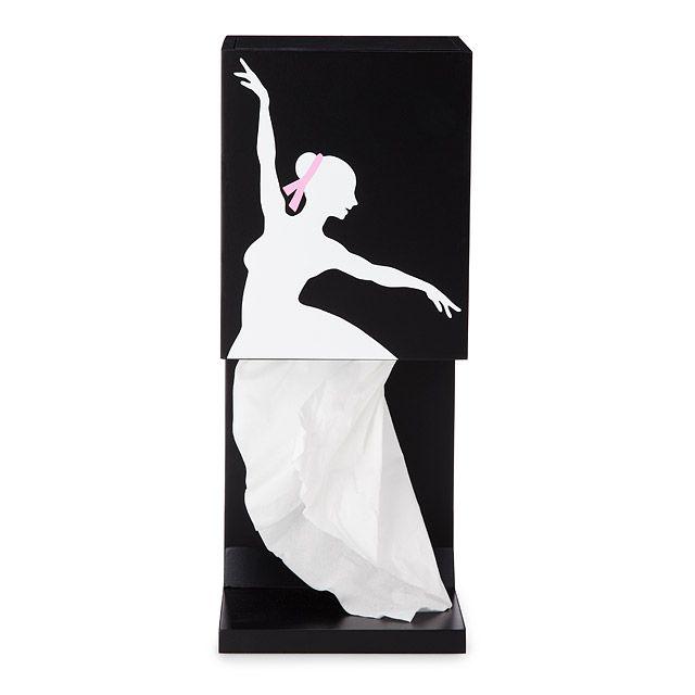 Graceful Ballerina Tissue Box Holder