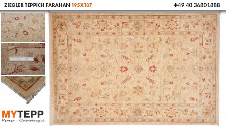 Online Kaufen Ziegler Teppich Farahan 195x137 : myTepp.de ist die beste Shop Adresse, wenn es um echte handgeknüpfte Perserteppiche geht, mit dem besten Service und Erfahrung seit 1965.