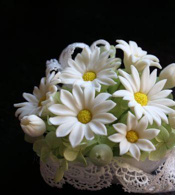 せっけんの花講習 マーガレット 新潟 手作り石鹸の作り方教室 アロマセラピーのやさしい時間