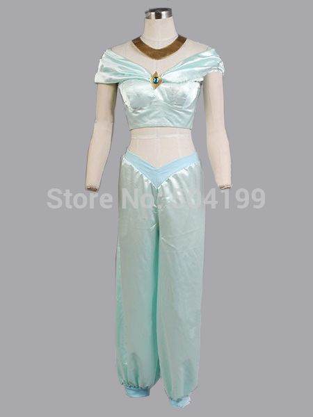 Female Adult Aladdin Cosplay Princess Jasmine Costume Film/Movie Party Dresses Made To Measure-in Clothing from Novelty & Special Use on Aliexpress.com | Alibaba Group