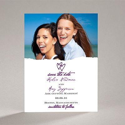 Mrs. And Mrs.   Save The Date Card. Lesbian CouplesLesbian WeddingAnnouncement  ...