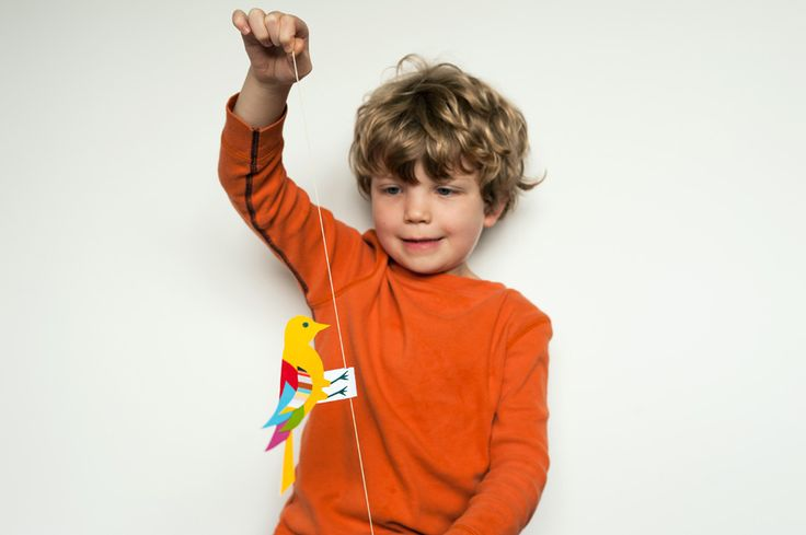 Made by Joel » Oscillating Bird Science Toy For Kids