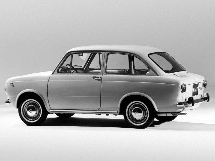 1964 Fiat 850 classic     f wallpaper background