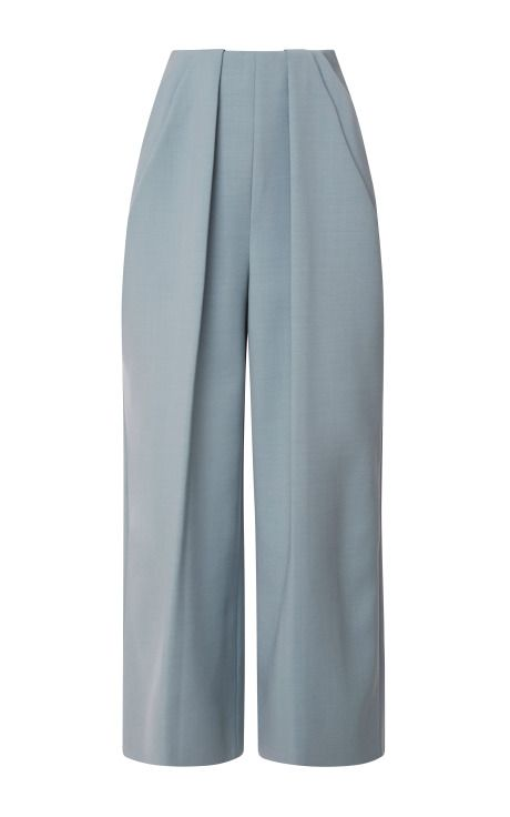 Pant With Symmetric Pleats by DELPOZO - Moda Operandi