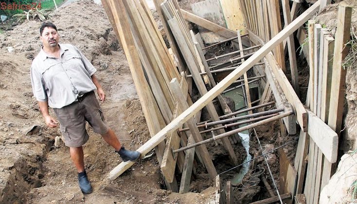 Anger over wastewater pipe repair