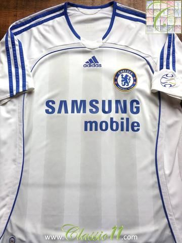 Relive Chelsea's 2006/2007 season with this original Adidas away football shirt.