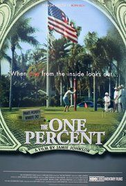The One Percent (2006)    In this hard-hitting but humorous documentary, director Jamie Johnson takes the exploration of wealth that he began in Born Rich one step further. The One Percent, refers to the tiny ...
