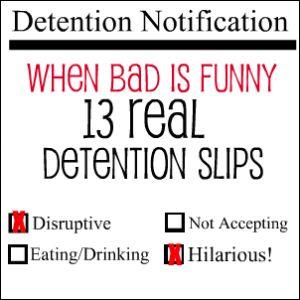 Funny Detention Slips Call Of Duty