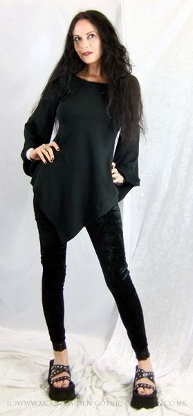 Lorelei Hoodie by Moonmaiden Gothic Clothing UK--love the shirt, not too sure about the shoes, though.