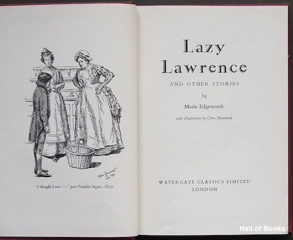 Maria edgeworth s lazy lawrence