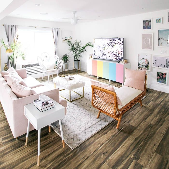 Rug Size Guide At Home With Ashley Apartment Living Room Design Living Room Inspiration Board Trendy Home Decor #rug #size #for #small #living #room