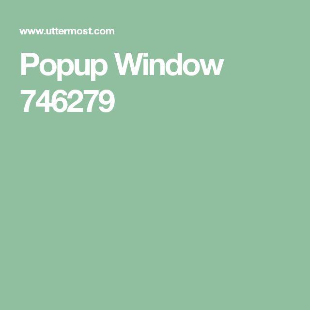 Popup Window 746279