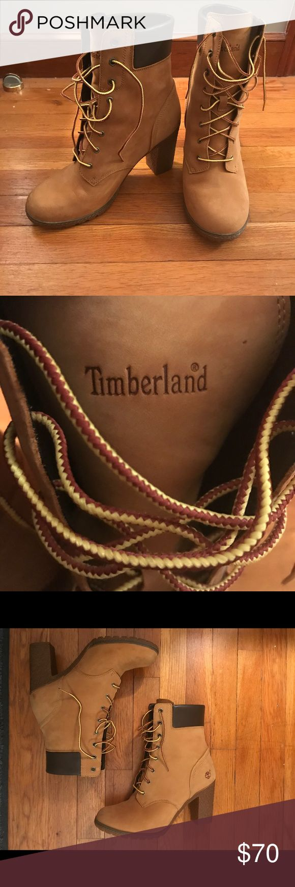 Timberland jeep boots size 10w Size 10w. Worn once inside for about 4 hours so almost perfect condition. Timberland Shoes Heeled Boots