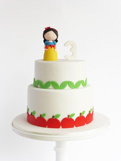 Peaceofcake ♥ Sweet Design: cake - Branca de Neve
