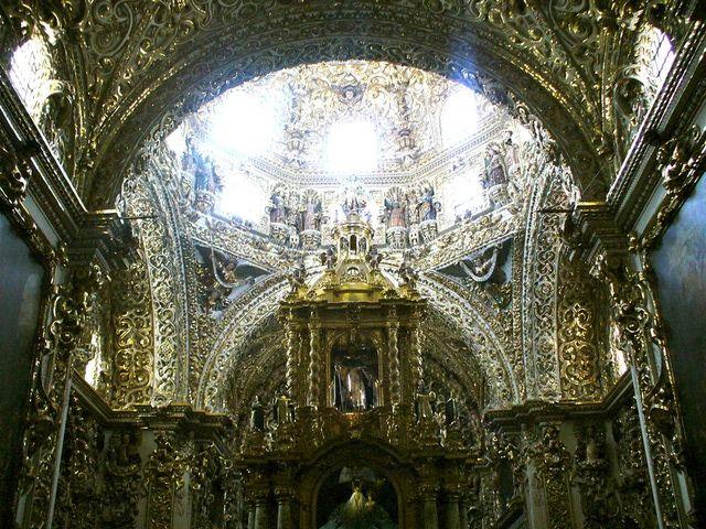 Puebla de los Ángeles: Capilla del Rosario