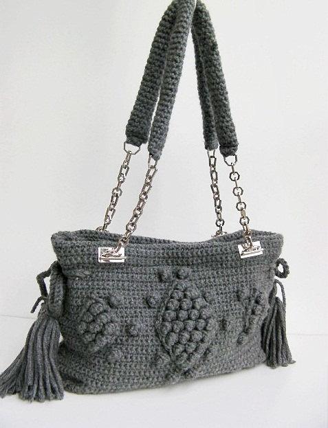 crochet bag-love the straps :)