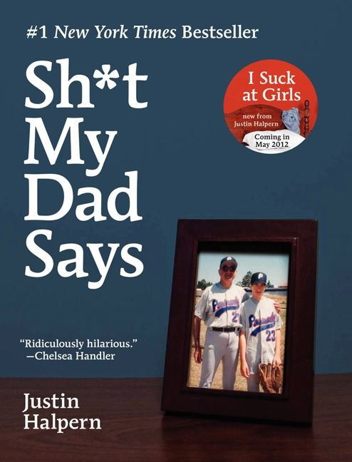 Tuesdays with Morrie meets F My Life in this hilarious book about a son's relationship with his foul-mouthed father by the 29-year-old comedy writer who created the massively popular Twitter feed of the same name.