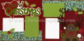 I Deerly Love Christmas Scrapbook Page Kit