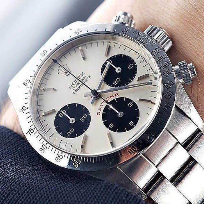 The Rolex Daytona 6265. Still plenty of magic left here. #rolexdaytona… - mens wrist watches sale, mens watches on sale, designer watches mens