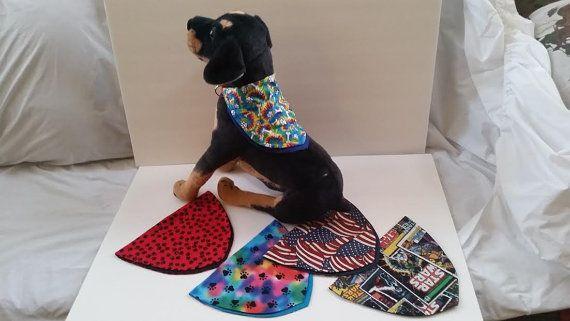 Dog Scarves Large by GmasOrganicOriginals on Etsy