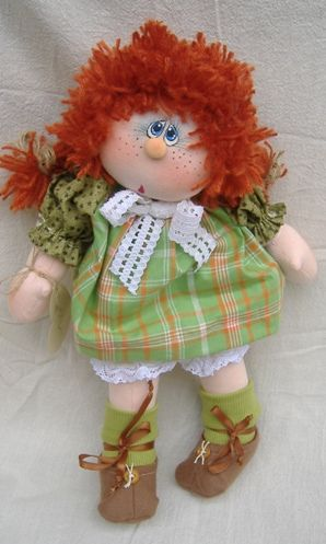 Cloth Doll - Irish