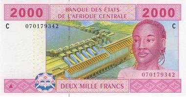 CFA Franc to US Dollar cash converter