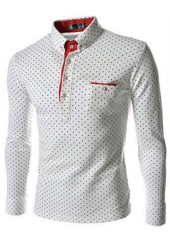 New Arrival Dot Print Cotton Tees for Work – teeteecee - fashion in style