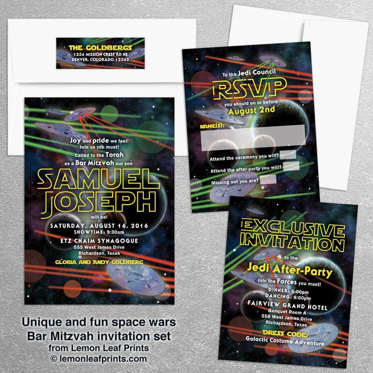 92 best Cool Bar Mitzvah Invitations images on Pinterest | Bats ...