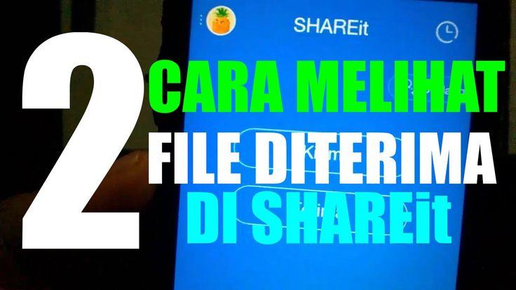 2 Cara Melihat File Diterima ShareIt di Android  Bagaimana cara mengecek file yang sudah di terima di SHAREit beneran sudah nyampai atau masih belum lengkap?  Pada kesempatan kali ini akan aku bagikan 2 cara cek file SHAREit di android  buat kamu yang belum tahu caranya atau cuma tahu satu cara lihat file SHAREit kamu pelu lihat video ini biar bisa mendapatkan 2 cara ampuh melihat file di SHAREit  Langgsung AJA PLAY