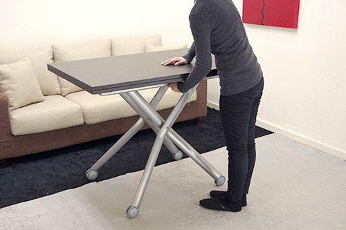 日本の住まいを考えて作られたリフティングテーブルは、伸張式昇降テーブルです。