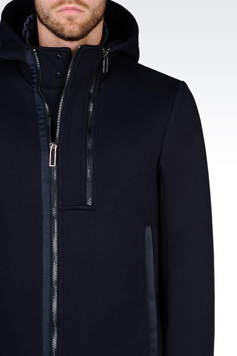 БЛУЗОН ИЗ ДЖЕРСИ: Пальто Для Мужчин by Armani - 5