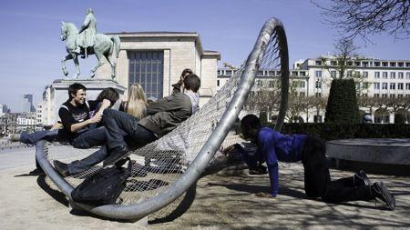 Genomineerden Staalbouwwedstrijd 2012: Limbe-stadsmeubilair, Brussel