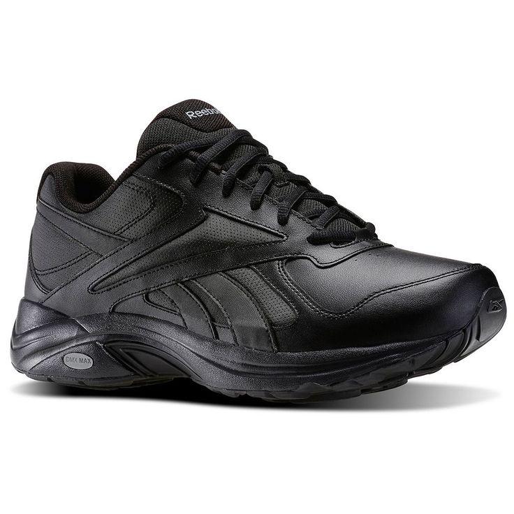 Reebok Walk Ultra V DMX Max Men's Walking Shoes, Size: 11.5 4E, Black