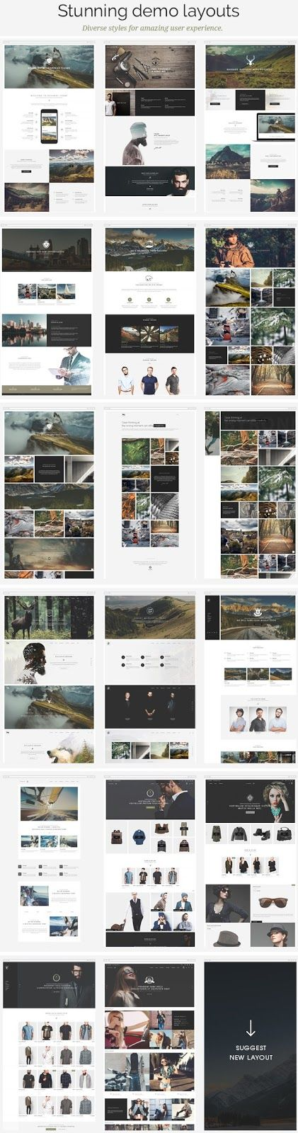 Best Multipurpose Responsive WordPress Theme 2015:  The new age of web development starts with the Ronneby #WordPress Theme. It has 18 incredible unique layouts. 13 Stylish blog and 41 portfolio page will shape your works with versatile templates. Responsive and #UX #design are its core features.