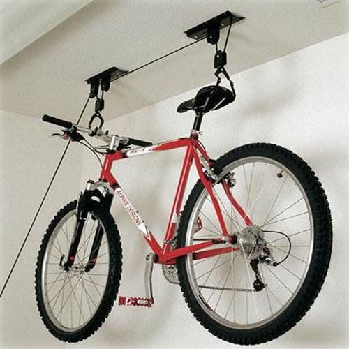 50lb (20kg) Bicycle Pulley Hoist Bike Lift Cycle Home Garage Storage Rack by Fifth Gear. 50lb (20kg) Bicycle Pulley Hoist Bike Lift Cycle Home Garage Storage Rack.