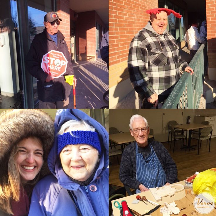 Stouffville Creek Residents enjoyed a beautiful afternoon at the Santa Claus Parade and had a wonderful evening at a wood working event! 🎅