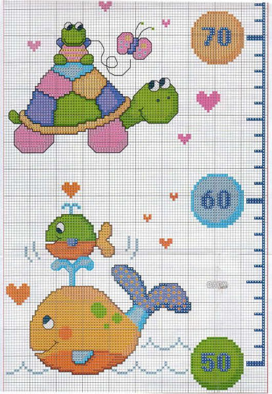 59 best medidores images on pinterest | cross stitch baby, cross