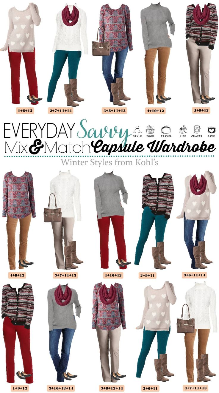 Want to look put together and stylish this winter without breaking the bank? Check out these new winter mix and match outfits from Kohls. I love the stripes via @everydaysavvy