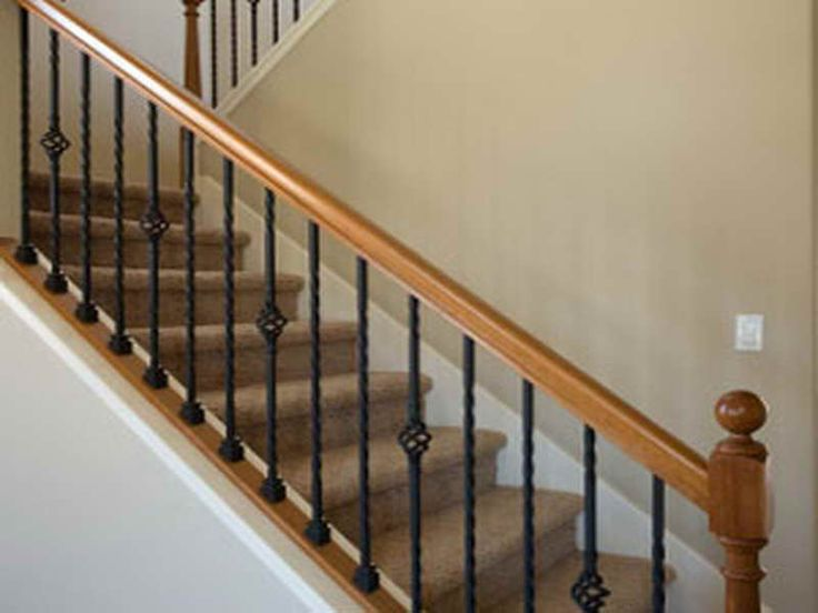Great Indoor Railing Ideas #10: Replacement Railing For Interior Stairs | 18 Photos Of The Stair Railing  Kits Interior