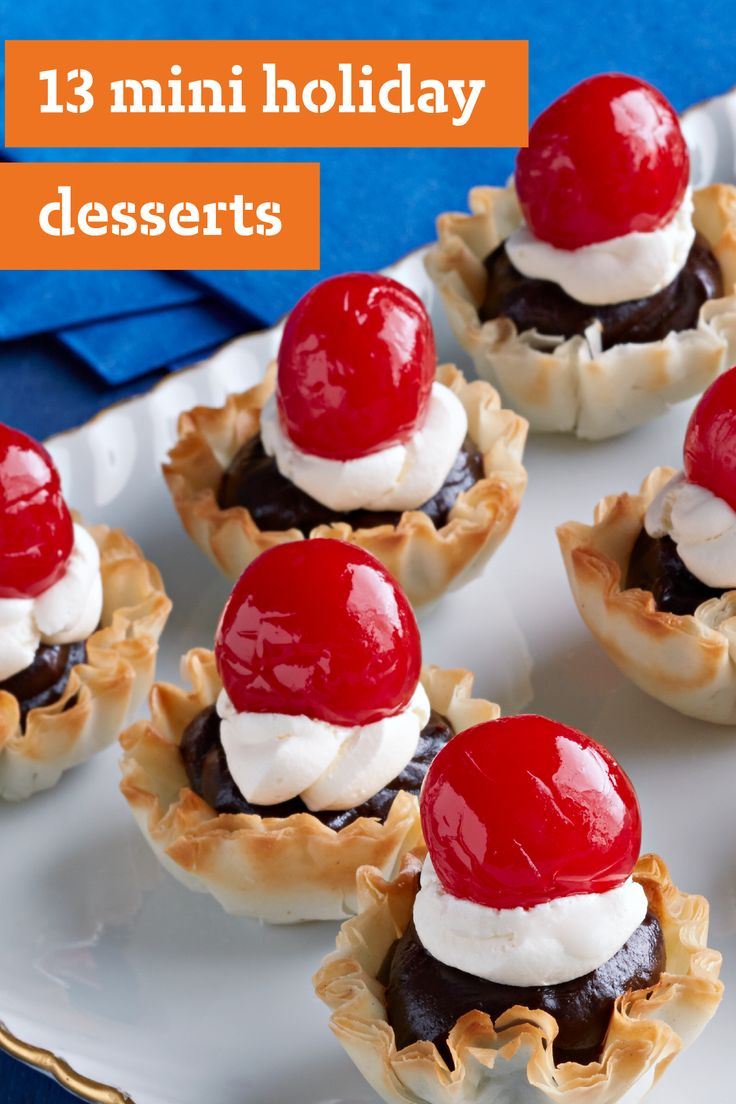 13 Mini Holiday Desserts Stay On Trend This Holiday