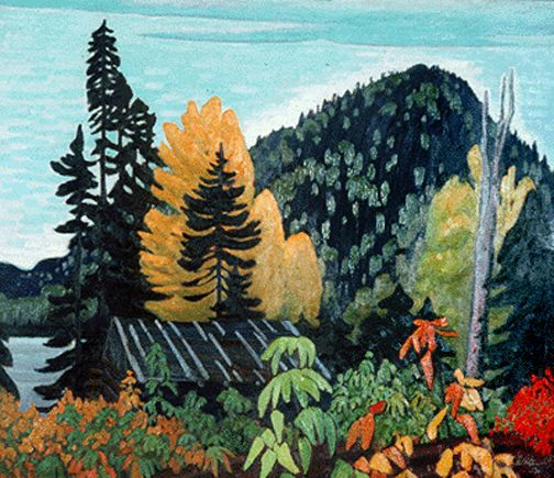 Lawren Harris Autumn in Algoma c.1923