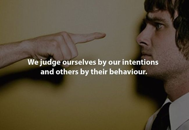 Have you ever been judged? And have you ever judged others? #perception #behaviour